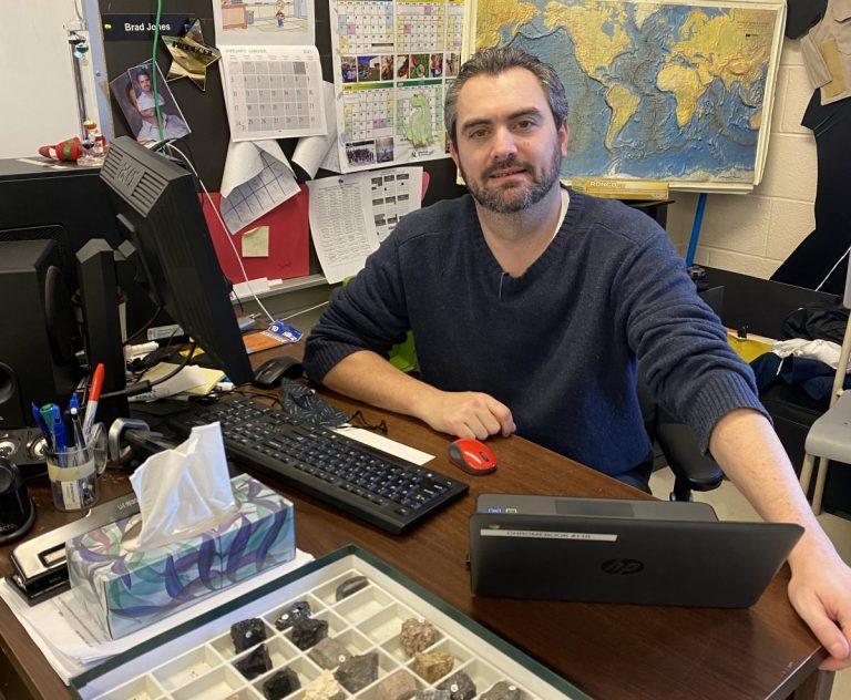 Newfoundland social studies teacher